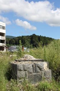 陸前高田 母と子 銅像